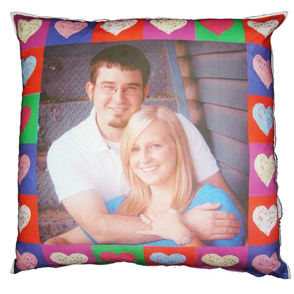 Almofada de casal com Foto
