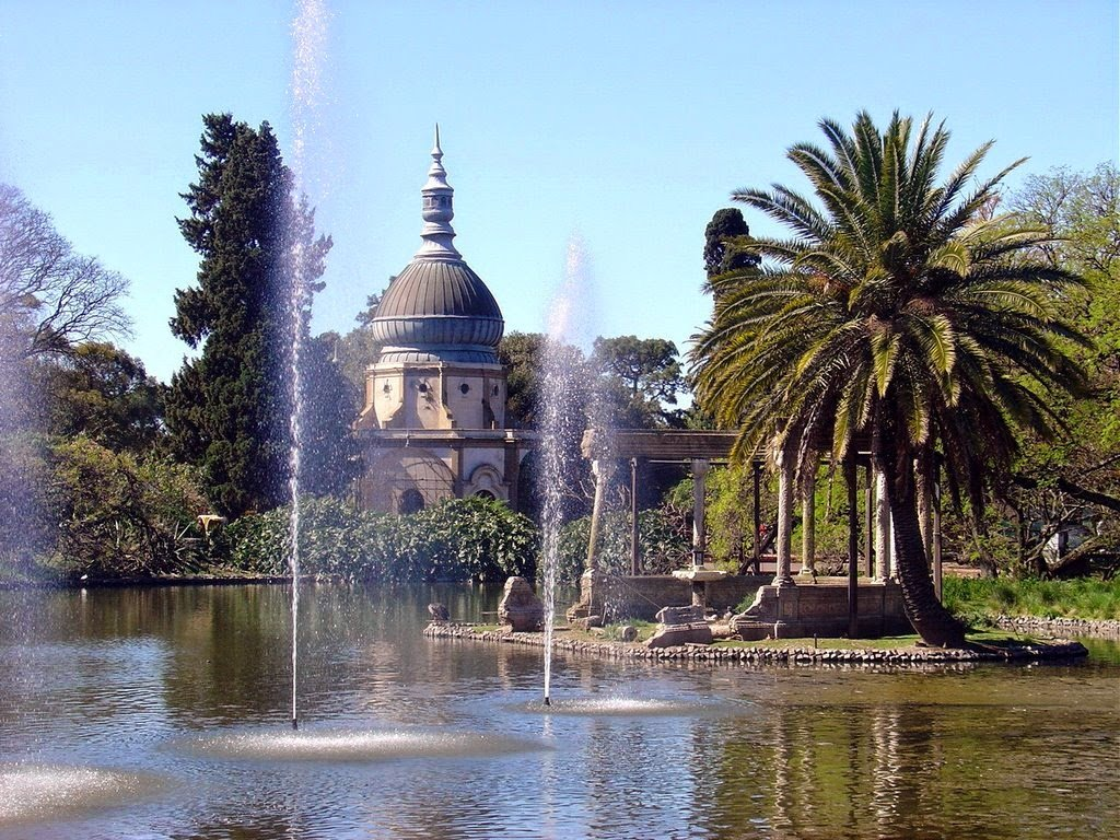Interior do Zoológico de Buenos Aires