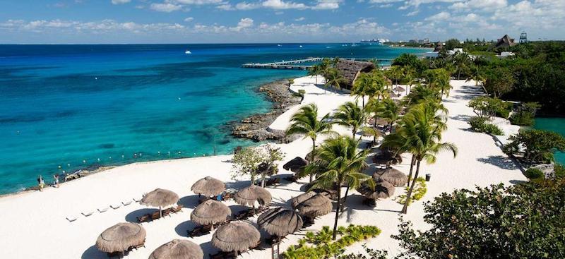 Ilha de Cozumel em Cancún no México