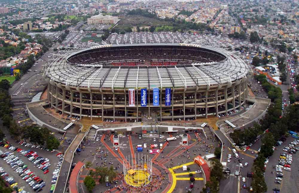 Estádio Azteca na Cidade do México