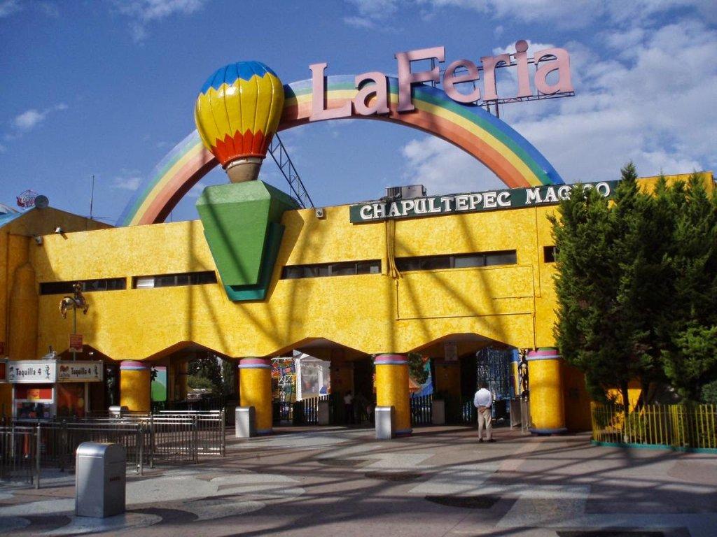 Parque La Feria Chapultepec Mágico na Cidade do México