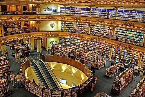 Livraria El Ateneo em Buenos Aires na Argentina