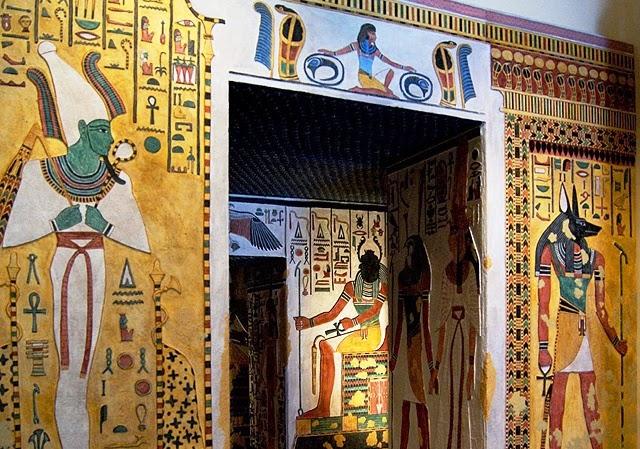 Exposição Egito no Museo de las Culturas na Cidade do México