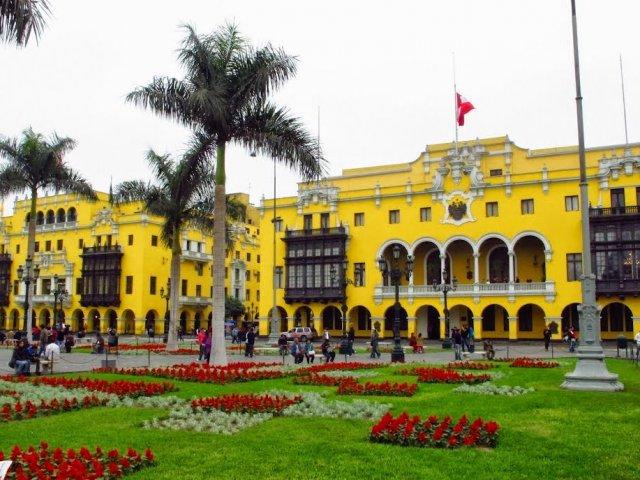 Palácio Municipal de Lima no Peru