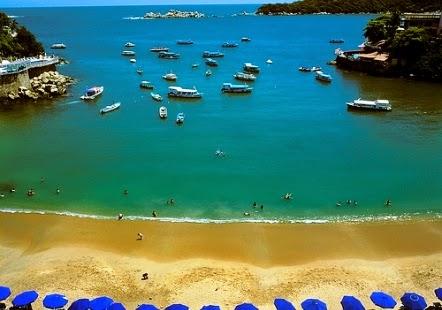 Melhores praias de Acapulco no México