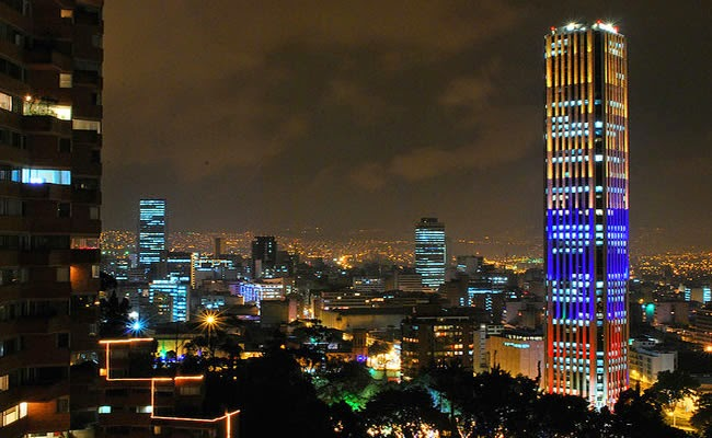 Torre Colpatria em Bogotá Ponto turístico