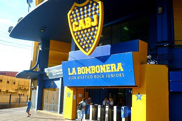 Estádio La Bombonera em Buenos Aires