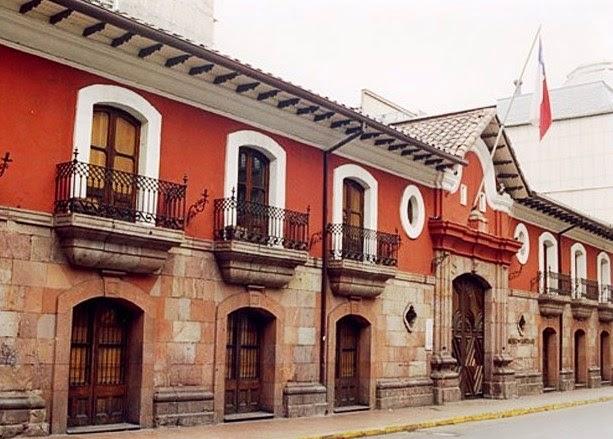 casa colorada Santiago do Chile
