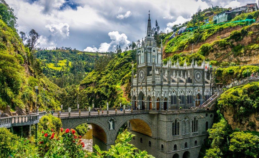 Santuário de Las Lajas Colômbia