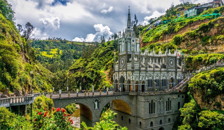 Santuário de Las Lajas na Colômbia