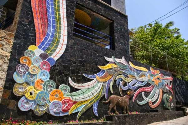Murais de Diego Rivera na Exekatlkalli