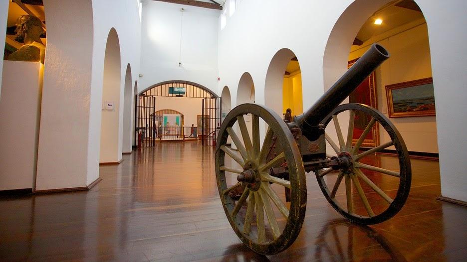 Interior do Museu Nacional da Colômbia