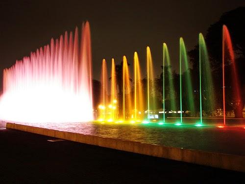 Noite no Parque da Reserva em Lima