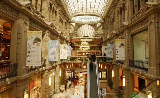 Estrutura do Shopping Galerías Pacífico Buenos Aires na Argentina