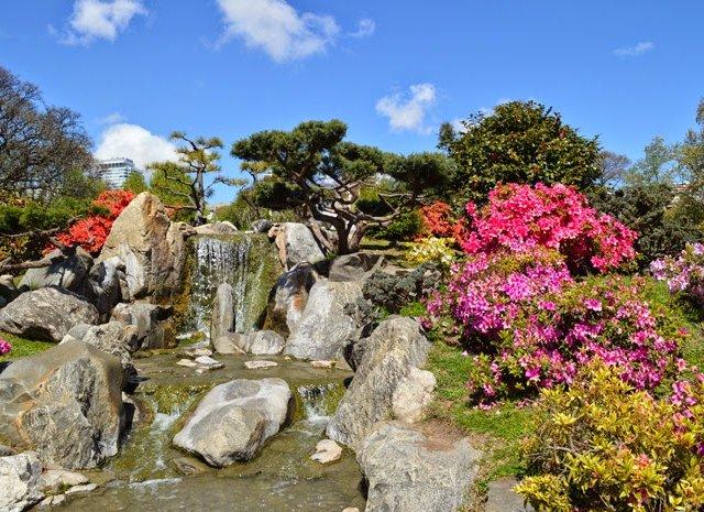 Jardim Japonês de Buenos Aires na Argentina