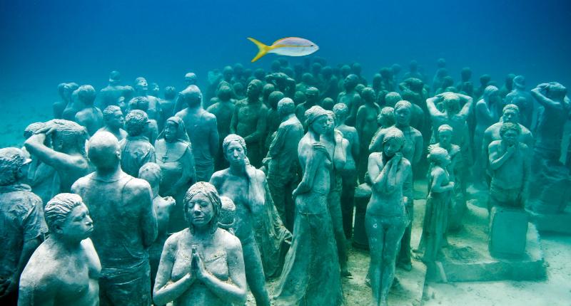 Sobre o MUSA Museu Subaquático de Arte em Cancún