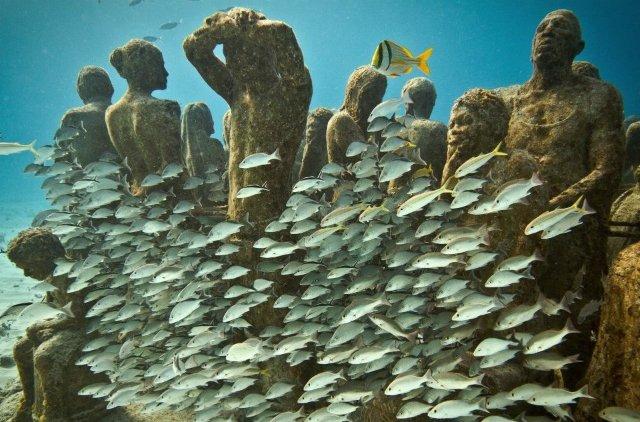 MUSA: Museu Subaquático de Arte em Cancún | México