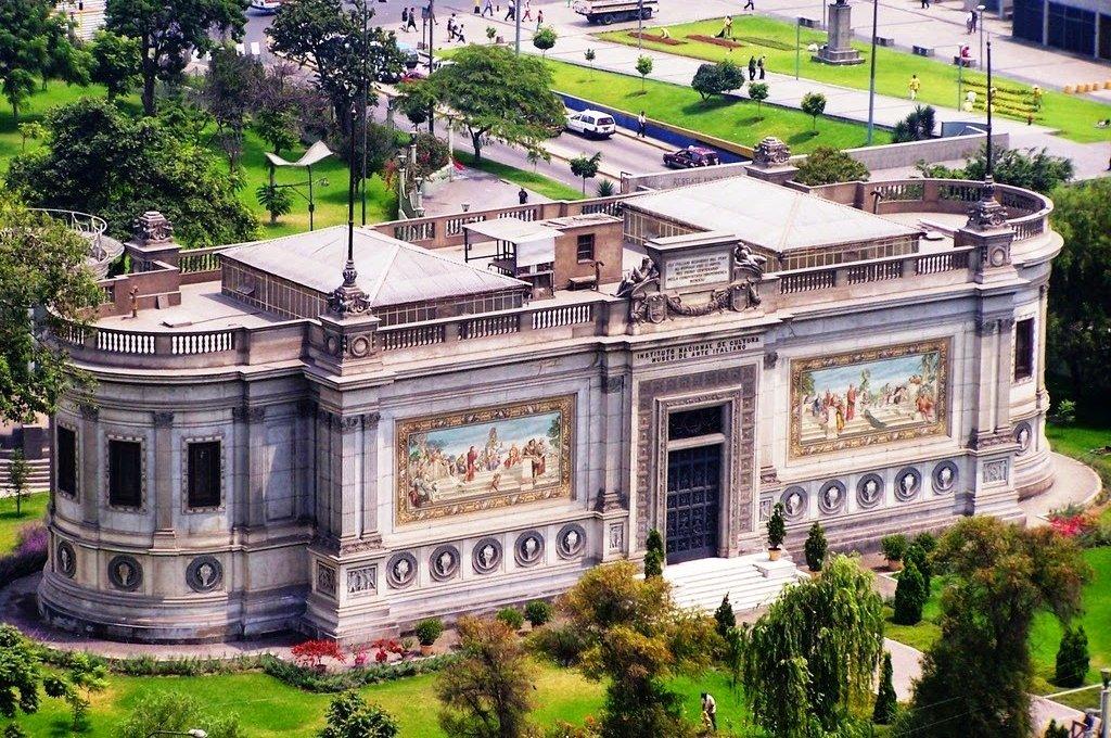 Museu de Arte italiana em Lima no Peru