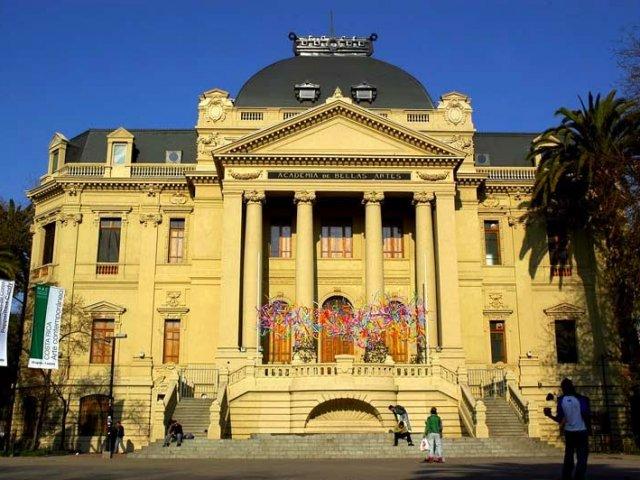 Centro Histórico de Santiago do Chile