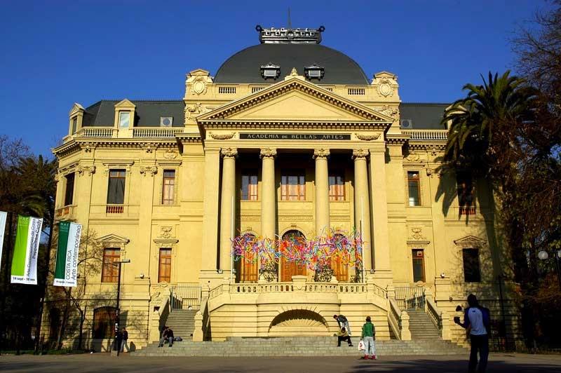 Museu Nacional de Belas Artes Santiago do Chile