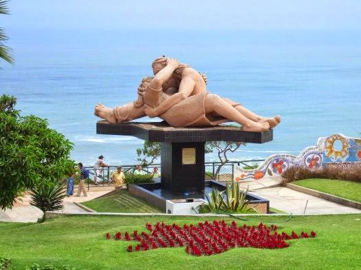 Parque do Amor em Lima no Peru