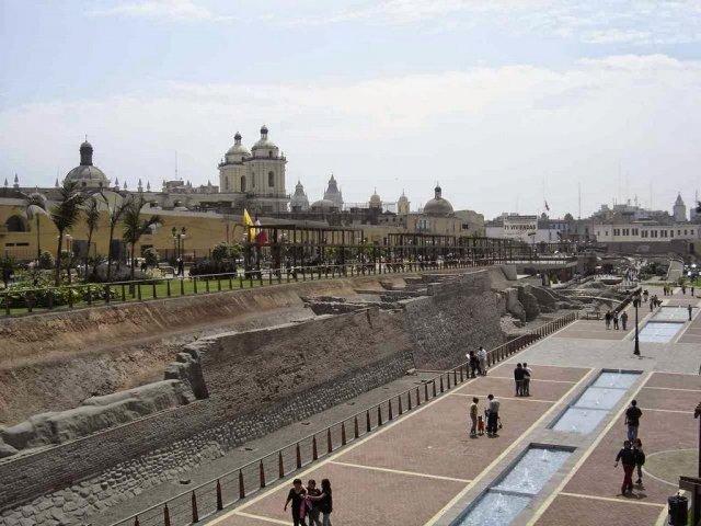 O Parque das Muralhas de Lima no Peru