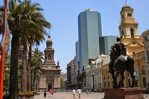 Pontos Turísticos em Santiago do Chile
