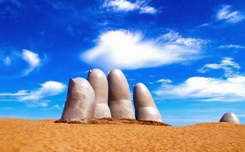 Monumento ao Afogado Punta del Este Uruguai