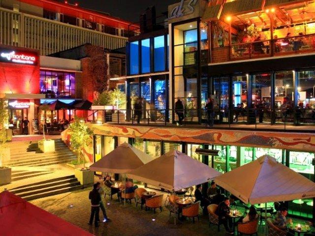 Pátio Bellavista em Santiago do Chile | Lojas e restaurantes