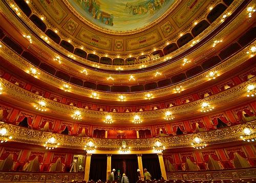Teatro Colón em Buenos Aires na Argentina