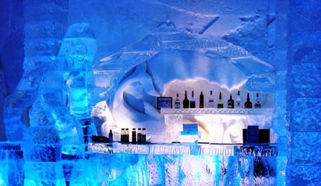 Bar de Gelo Ice Bariloche na Argentina