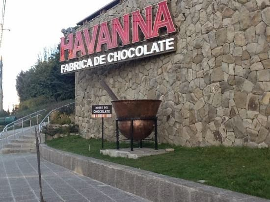 Museu do Chocolate Havanna em Bariloche na Argentina