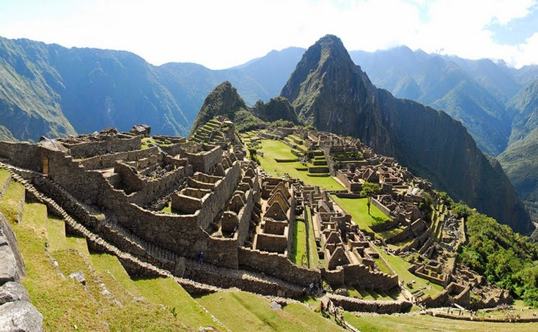 Trilha Inca em Machu Picchu no Peru