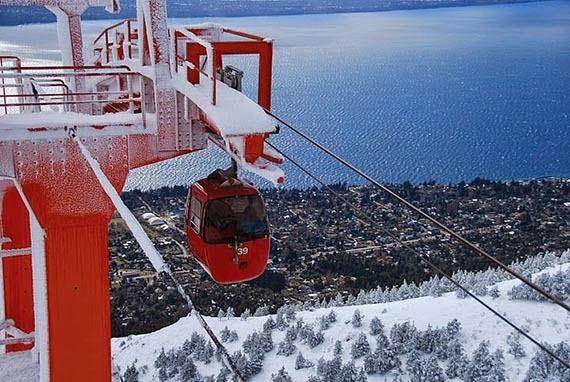 Cerro Otto em Bariloche na Argentina | Neve e Ski