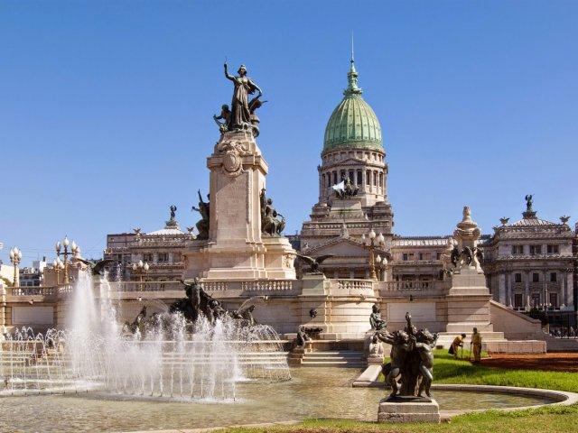 Meios de transporte em Buenos Aires na Argentina
