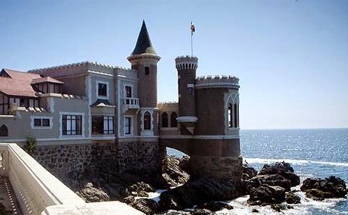 Castelo Wulff em Vina del Mar