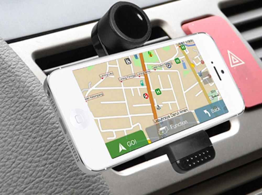 GPS no celular em Cancún