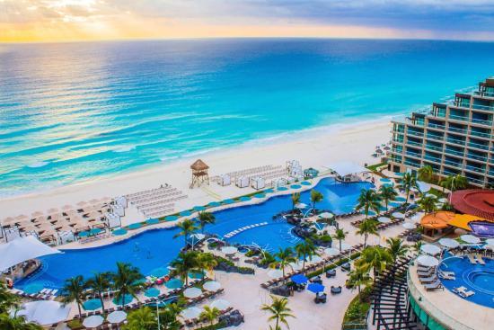 Hotel em Cancún no Caribe