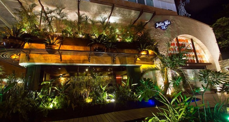 Restaurante Julia Mia em Cancún