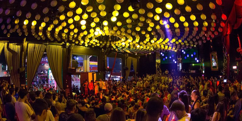 Balada Mandala Nightclub em Cancún
