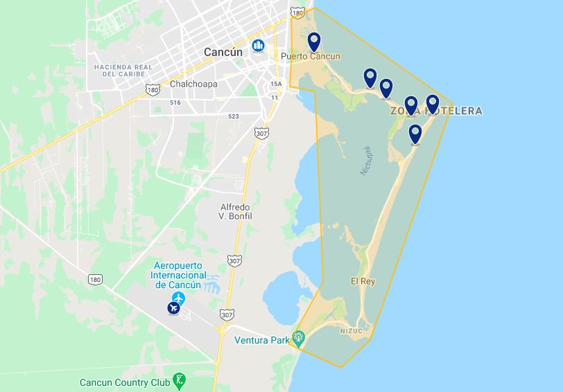 Onde ficar em Cancún: melhores hotéis