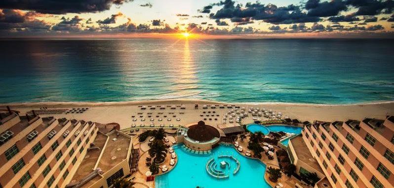 Bons Hotéis e Resorts em Cancún no México