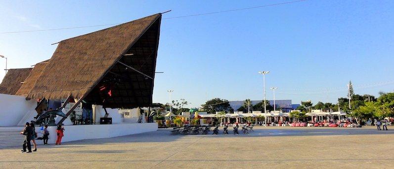 Atrativos no Parque las Palapas em Cancún