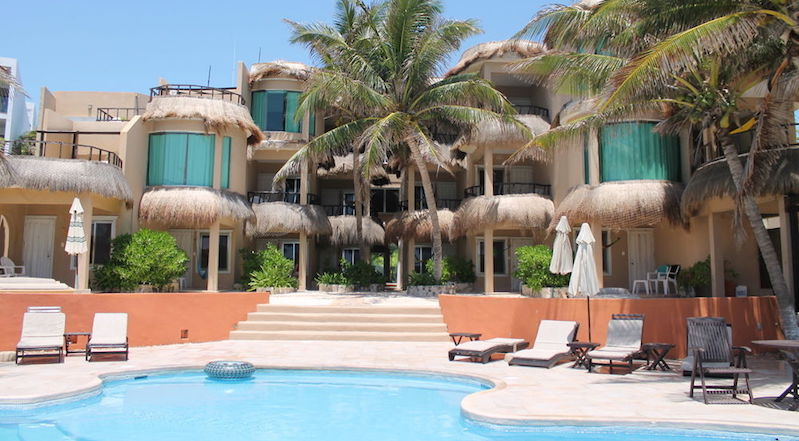 Hospedagem na Isla Mujeres em Cancún