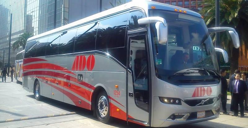 Ônibus em Cancún