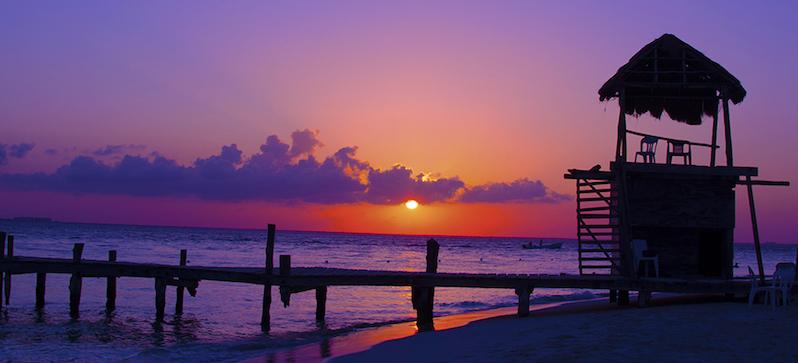 Isla Mujeres em Cancún no México