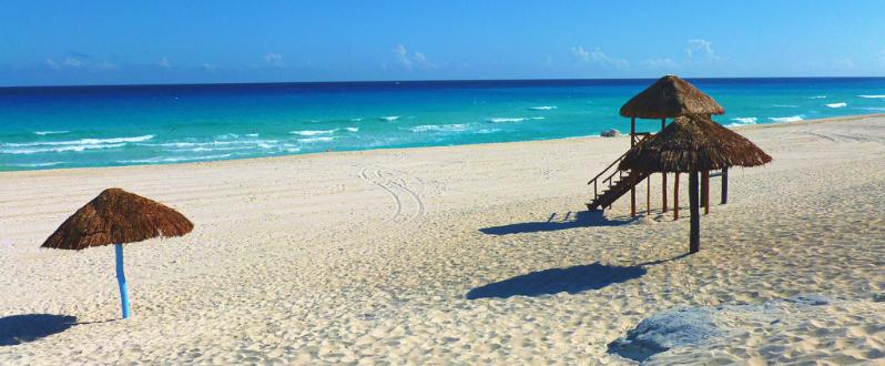Playa Delfines em Cancún - México