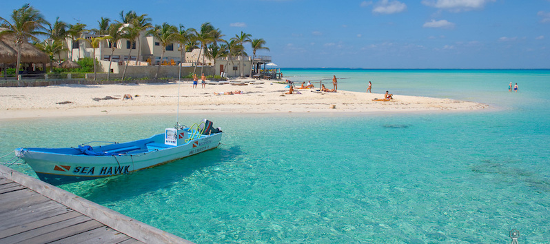 Playa Norte na Isla Mujeres em Cancún