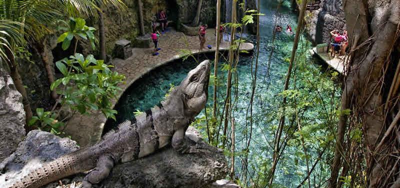 Parque eco-arqueológico Xcaret em Cancún