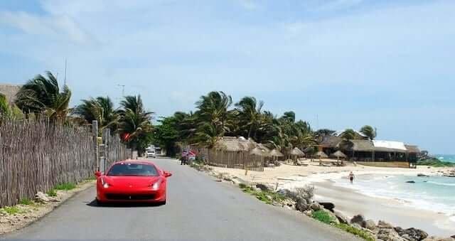 Meios de transporte em Cancún no México